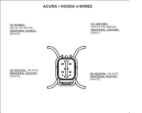 honda 4 wire o2 sensor wiring diagram wiring diagram 2018