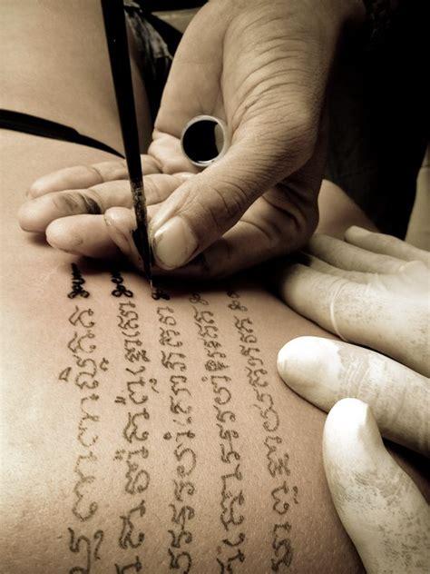 backpacker tattoo getting tattooed in thailand bamboo style backpacker