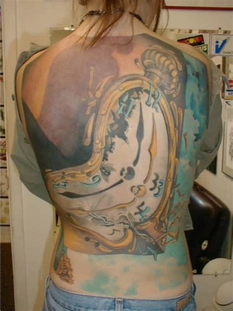 big tattoos for females clock ideas and clock designs