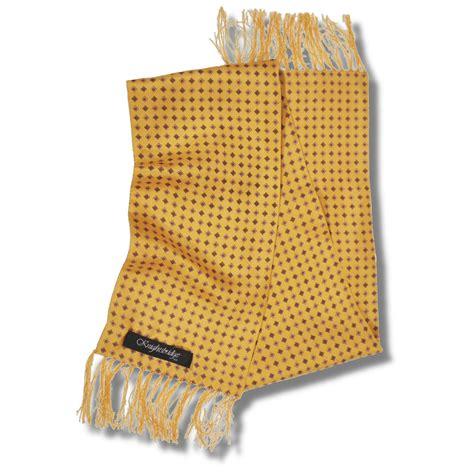 yellow pattern scarf knightsbridge mod 60 s retro 7 quot silk diamond pattern scarf