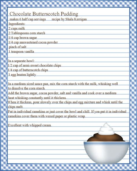 recipe pages template page recipe templates search cookbook