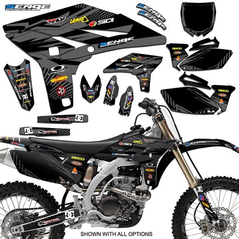 Yamaha 250 Sticker Kit by 2010 2011 2012 2013 Yz 250f Graphics Kit Yz250f Yamaha