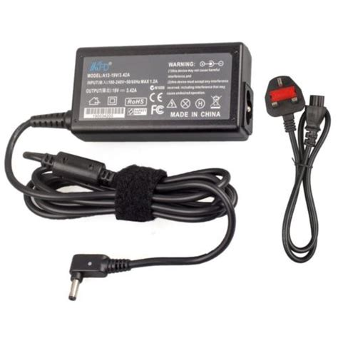 asus x540y laptop charger output dc 19v 1 75 2 37a power 33w 45w connecter size 4 0mm 1 35mm