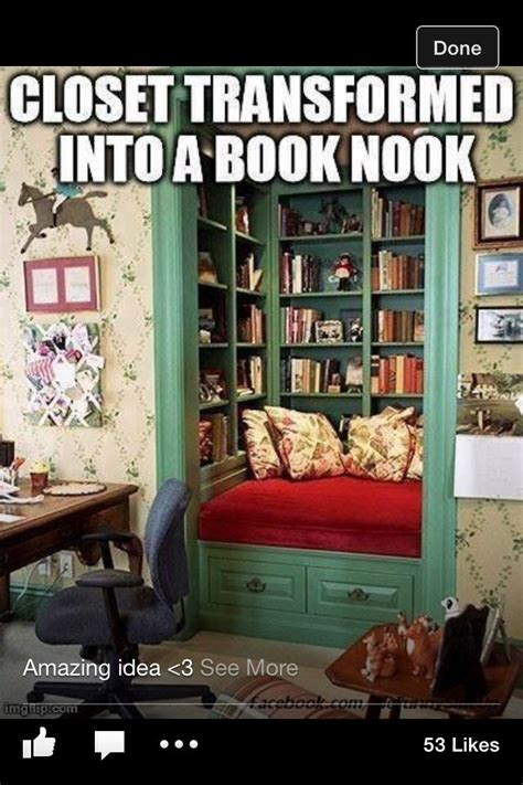 turn pictures into a book turn a closet into a book nook musely