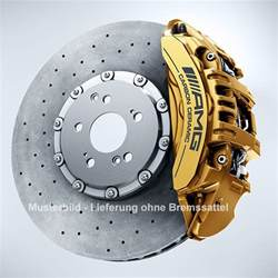 Mercedes C Class With Brake Assist System Plus Brake Discs Front Axle C Class 205 C63 Amg Amg S 205