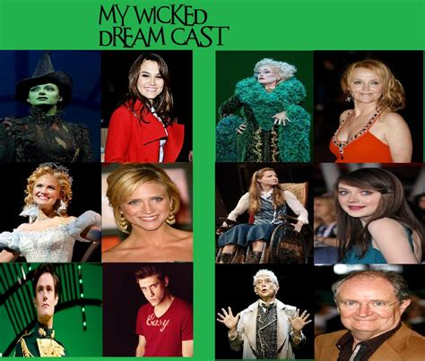 wicked imdb wicked dream cast by nellielelovett on deviantart