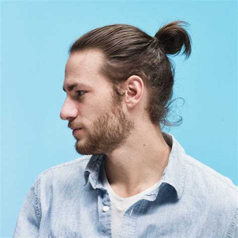 hair peice for making buns to grow out hair how to grow a man bun 6 steps to rocking the hairdo of