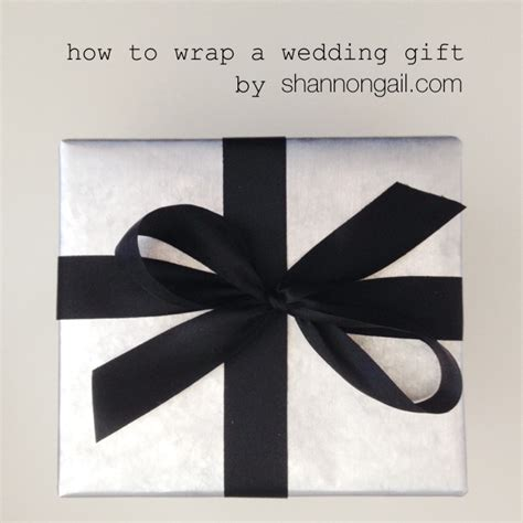 how to wrap a gift how to wrap a wedding gift shannon gail