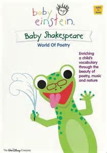 Dvd baby einstein baby shakespeare mundo da poesia disney vai trazer