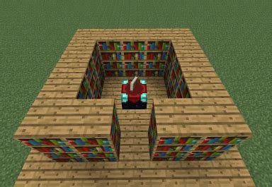 Enchantment Table And Bookshelves Enchanting Issues Any Help Would Be Great Mcx360