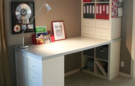 kallax desk hack  alex google search home office