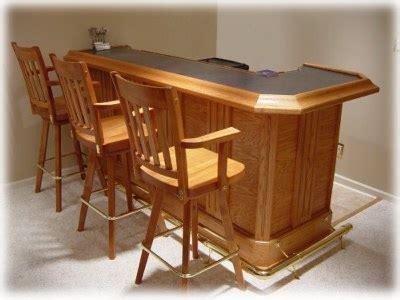Wood Bar Plans Free