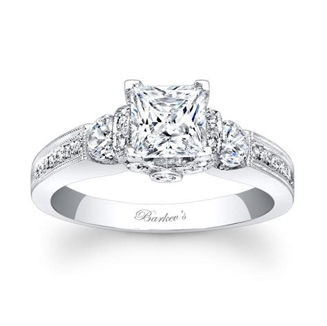 barkev s princess cut engagement ring 7832l