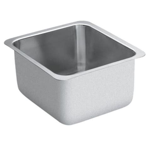 Moen Undermount Kitchen Sinks Moen G18442 1800 Series 18 Bowl Undermount Kitchen Sink Stainless Steel