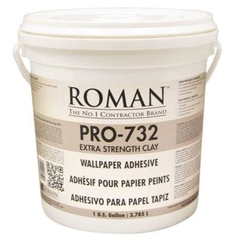 home depot pro extra roman pro 732 1 gal extra strength wallcovering adhesive 010001 the home depot