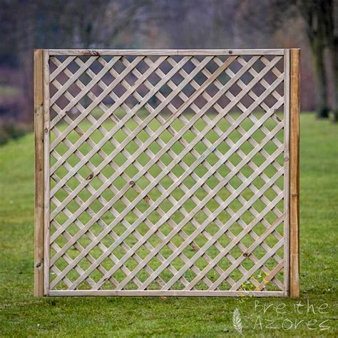 Diagonal Trellis Panels diagonal garden trellis panels breathe azores