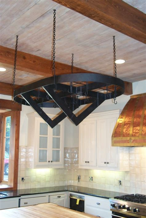 Custom Pot Rack Designs custom pot racks custom wrought iron pot racks misita designs