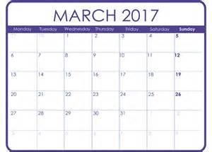 Print March Calendar 2017 ? Blank Calendar 2017