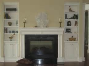 Fireplace Mantel Bookshelves by Faux Fireplace With Bookshelves Ideas Ceilings