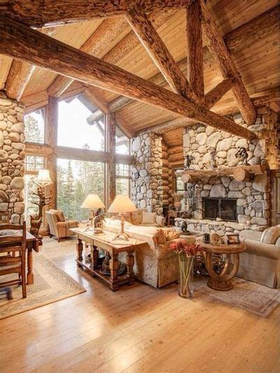 Best Log Cabin Decorating Ideas Best 20 Log Cabin Interiors Ideas On Log Cabin Designs Log Cabin Decorating And
