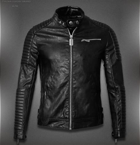 leather motorcycle jacket brands leather jacket brands men jacketin