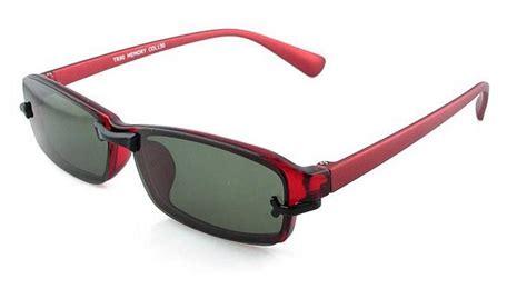 womens magnetic polarized clip on eyeglasses frames