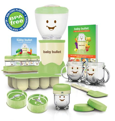 Baby Bullet Food Blender baby food maker machine five real