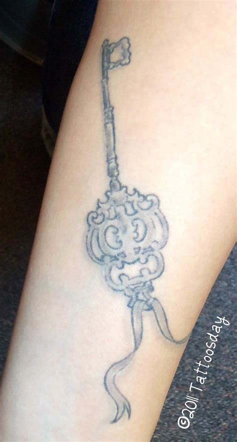 skeleton key tattoos tattoosday a february 2011
