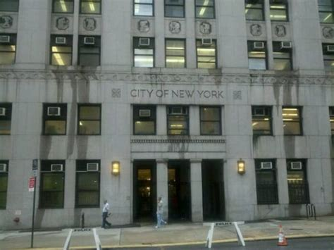 Department Of Records Nyc Department Of Health Office Of Vital Records Tribeca New York Ny Stati