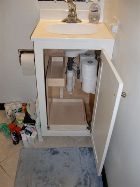 Bathroom Vanity Storage Solutions Bathroom Storage Solutions Bathroom Cabinets And Shelves Boston By Shelfgenie Of Massachusetts