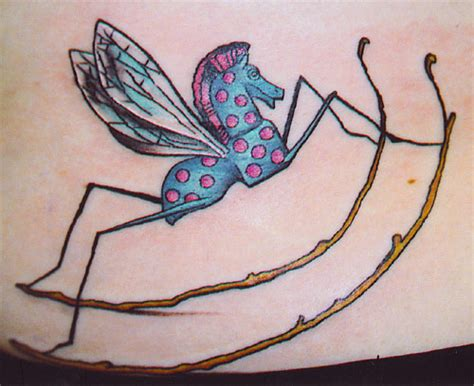 rocking horse tattoo rocking fly contrariwise literary tattoos