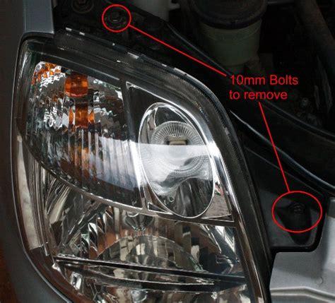 Service Manual Replace Headlights In A 2009 Kia Borrego