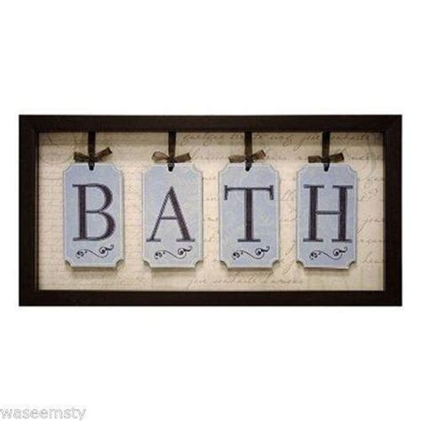 framed bathroom wall art bathroom framed wall art ebay