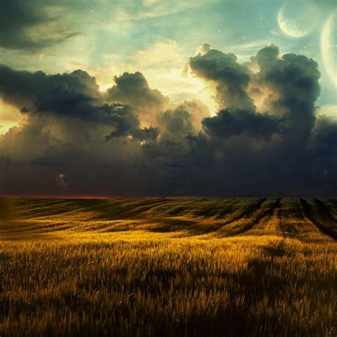 grassland landscape wallpapersc ipad