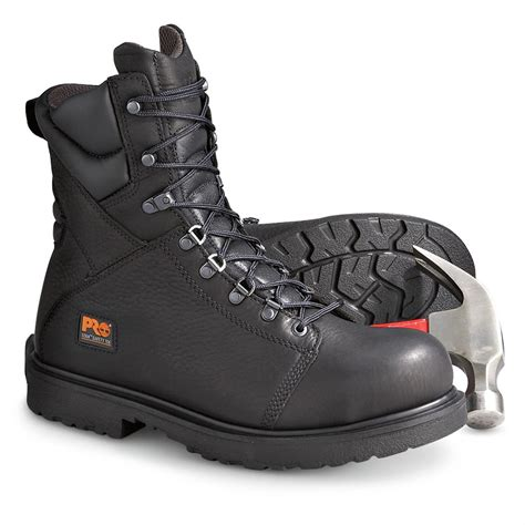 s 8 quot timberland pro 174 titan 174 safety toe boots black