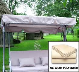 Patio Swing Canopy Replacement by New Garden Outdoor Swing Canopy Cover Top Replacement Ebay