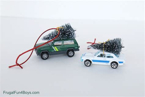 cars ornaments bringing home the tree car ornament for to