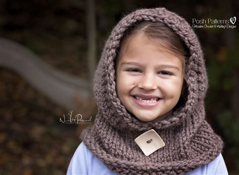 hooded cowl knit pattern hooded cowl knitting pattern hooded scarf