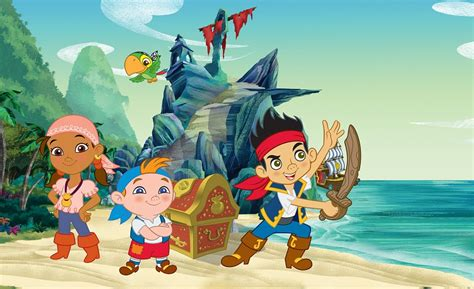 Wallpapers For Kids Room by Disney Jake Pirate Character Wallpaper For Boys Amp Girls Room