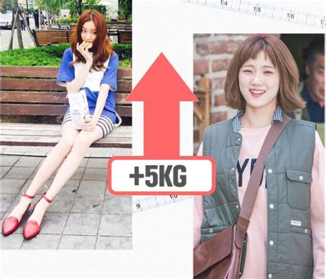 korean actress gained weight for role stars who have lost gained weight for their characters