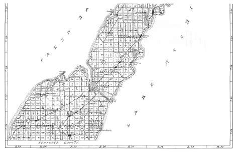 door maps map of door county quot quot sc quot 1 quot st quot quot wilhelm