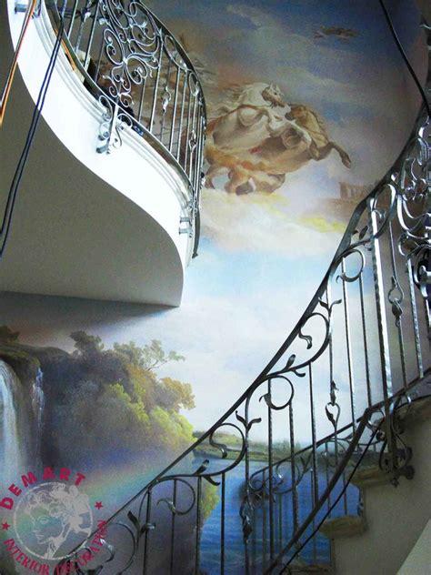decorazioni interni decorazione d interni per pareti villa su tre piani lugano