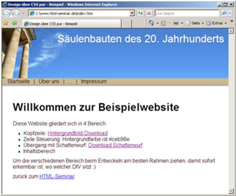 html input pattern beispiele beispielwebsite mit 1 spalten layout schritt f 252 r schritt