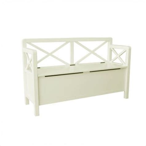 antique white storage bench anna storage bench antique white antique white 50 quot w x
