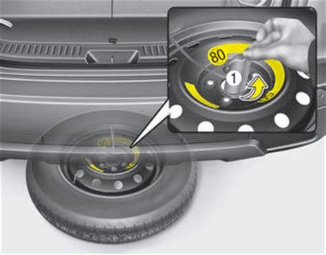 kia sedona spare tire removal if you a flat tire what to do in an emergency kia