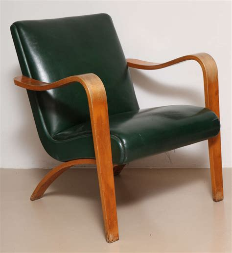 thonet bentwood armchair pair of 1940s thonet bentwood lounge chairs at 1stdibs