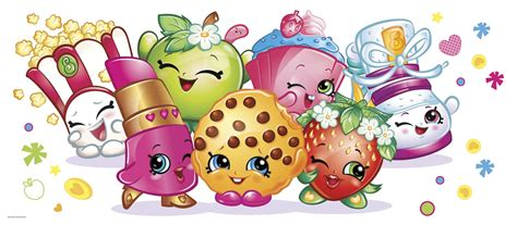 How To Make Birthday Decorations At Home by Shopkins Giant Wall Decal Birthdayexpress Com