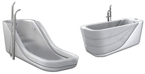 inflatable bathtub the clever bathtub yanko design