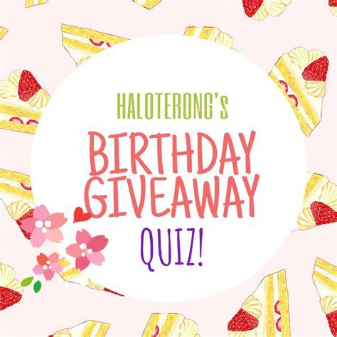 Berapa Toner Wardah haloterong by mevlied nahla haloterong s skii birthday giveaway quiz