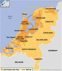netherlands flood map map dikes